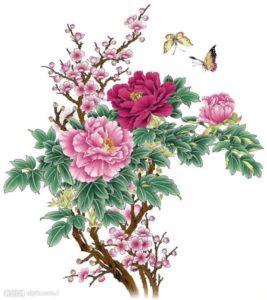 nghĩa Hình xăm hoa mẫu đơn 2 267x300 - Ý Nghĩa Hình xăm hoa Mẫu Đơn