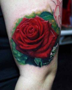Nghĩa Hình xăm hoa hồng 2 241x300 - Ý Nghĩa Hình xăm hoa hồng