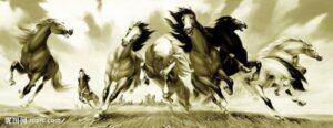 Nghĩa Hình xăm ngựa 300x116 - Ý Nghĩa Hình xăm ngựa (tuấn mã)