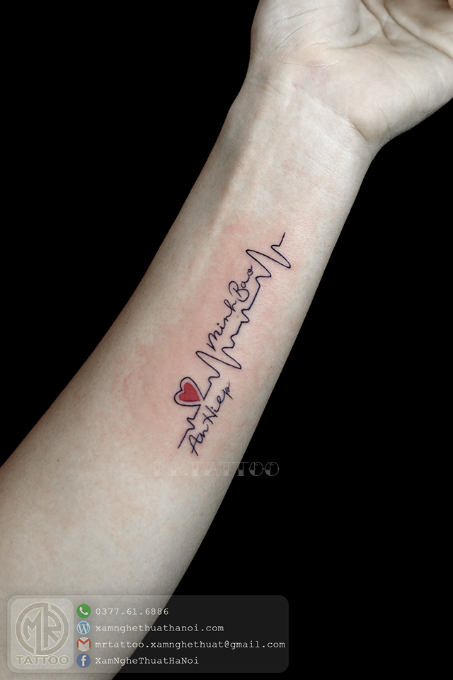 Hình Xăm Chữ 12 - Hình Xăm Chữ tại Mr.Tattoo - Những mẫu xăm chữ đẹp nhất 2.