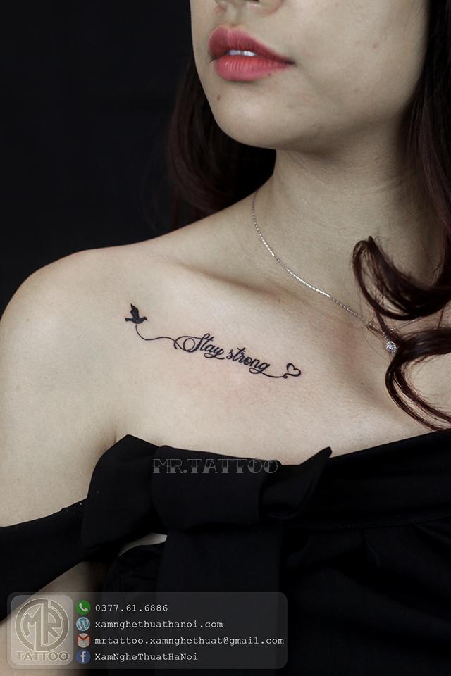 Hình Xăm Chữ 13 - Hình Xăm Chữ tại Mr.Tattoo - Những mẫu xăm chữ đẹp nhất 2.