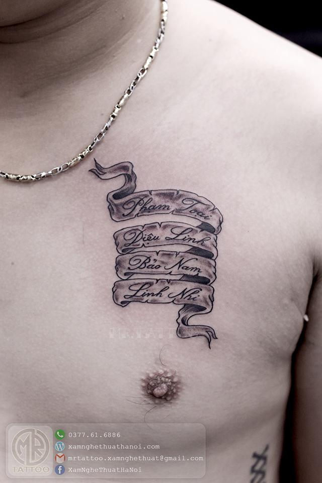 Hình Xăm Chữ 44 - Hình Xăm Chữ tại Mr.Tattoo - Những mẫu xăm chữ đẹp nhất 2.