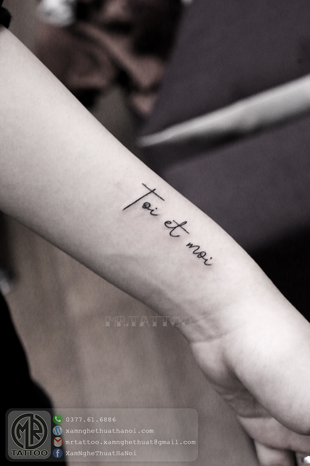 Hình Xăm Chữ 78 - Hình Xăm Chữ tại Mr.Tattoo - Những mẫu xăm chữ đẹp nhất 2.