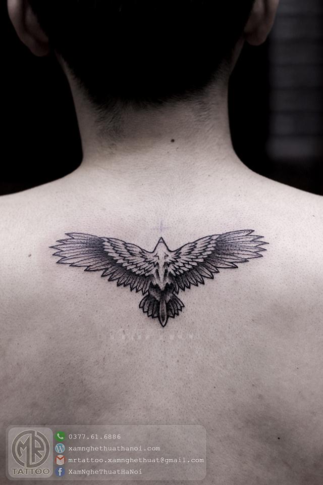 Hình xăm đại bàng - Hình Xăm Đẹp tại Mr.Tattoo - Những mẫu xăm đẹp nhất 2.