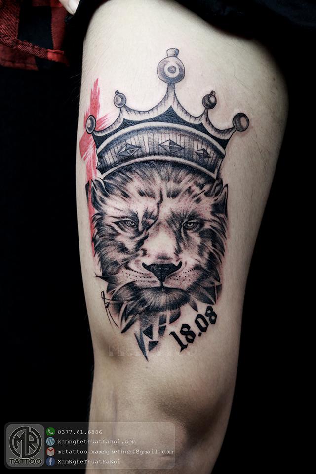 Hình xăm báo - Hình Xăm Đẹp tại Mr.Tattoo - Những mẫu xăm đẹp nhất 2.