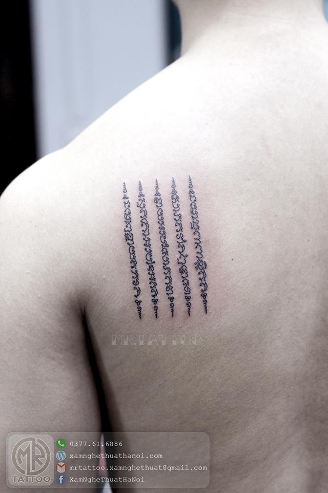 Hình xăm bùa thái - Hình Xăm Nhỏ tại Mr.Tattoo - Những mẫu xăm nhỏ đẹp nhất 1.