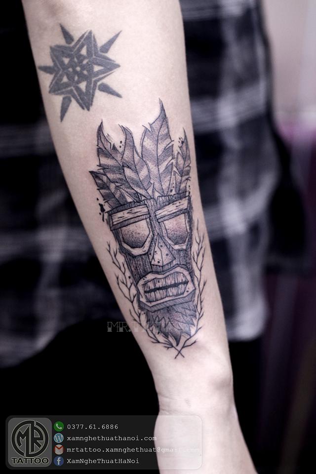 Hình xăm biểu tượng thổ dân - Hình Xăm Đẹp tại Mr.Tattoo - Những mẫu xăm đẹp nhất 1.