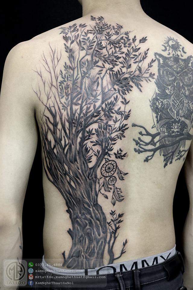 Hình xăm cây - Hình Xăm Đẹp tại Mr.Tattoo - Những mẫu xăm đẹp nhất 2.
