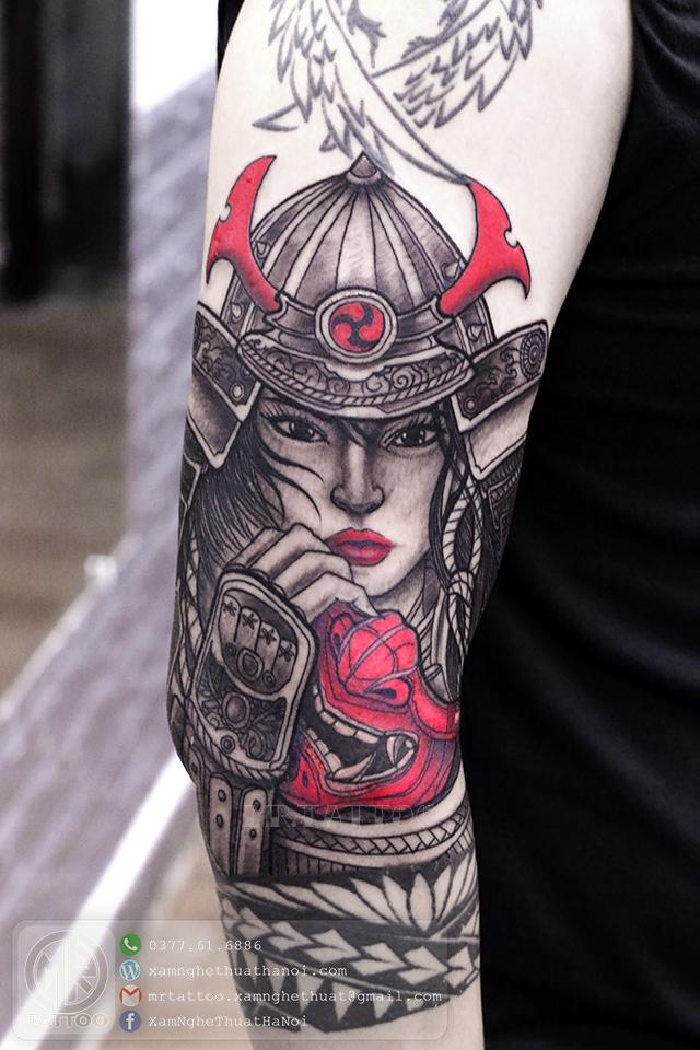 Hình xăm chiến binh samurai - Hình Xăm Đẹp tại Mr.Tattoo - Những mẫu xăm đẹp nhất 2.