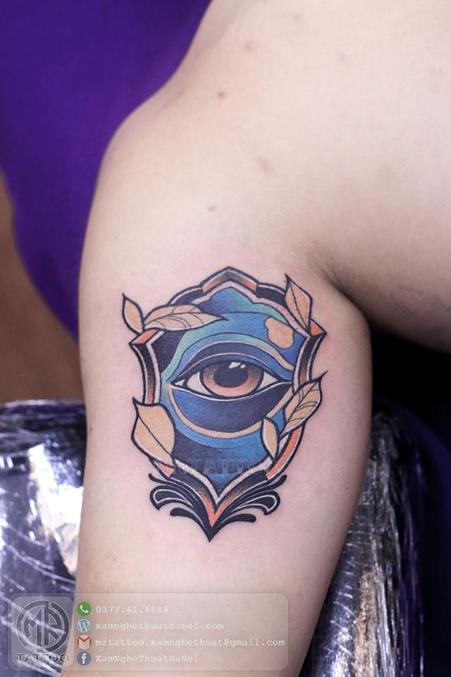 Hình xăm con mắt 1 - Hình Xăm Đẹp | Nice Tattoos