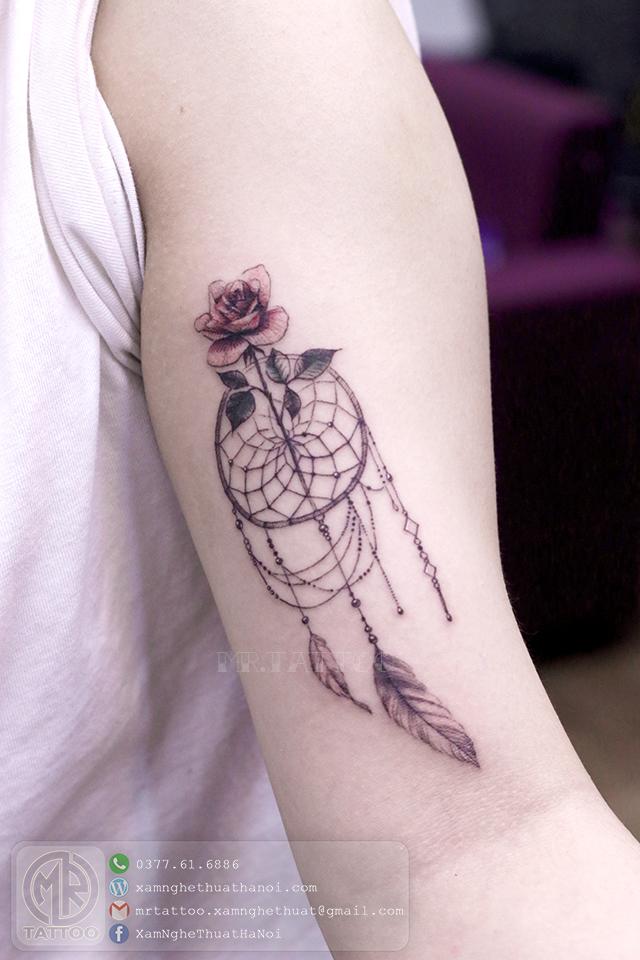 Hình xăm dreamcatcher - Hình Xăm Đẹp tại Mr.Tattoo - Những mẫu xăm đẹp nhất 2.