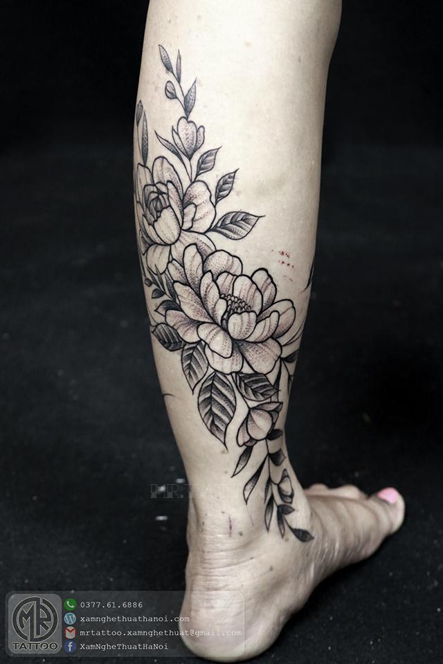 Hình xăm hoa 1 - Hình Xăm Đẹp tại Mr.Tattoo - Những mẫu xăm đẹp nhất 1.