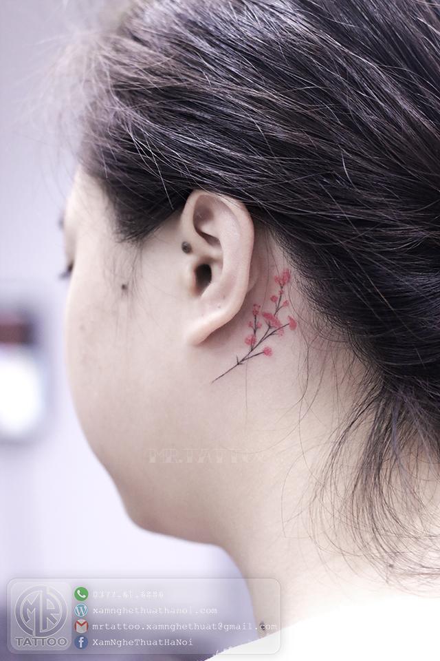 Hình xăm hoa 4 - Hình Xăm Nhỏ tại Mr.Tattoo - Những mẫu xăm nhỏ đẹp nhất 1.