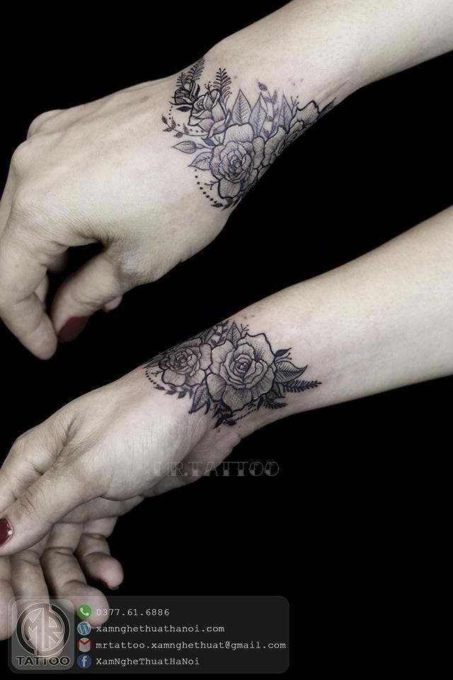 Hình xăm hoa 6 - Hình Xăm Nhỏ | Mini Tattoos