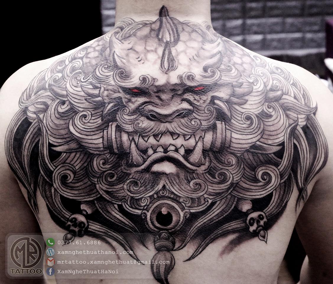 Hình xăm kỳ lân - Hình Xăm Đẹp tại Mr.Tattoo - Những mẫu xăm đẹp nhất 2.