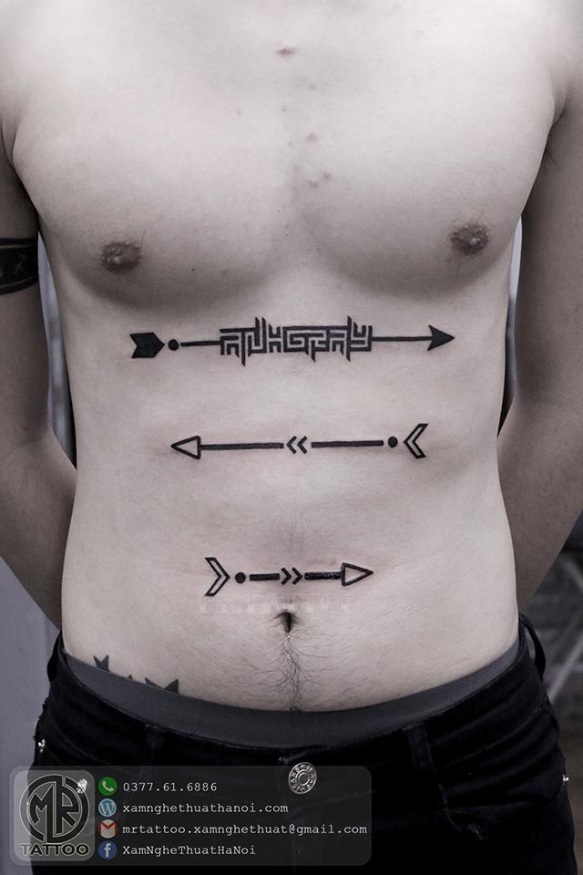 Hình xăm mũi tên 1 - Hình Xăm Đẹp tại Mr.Tattoo - Những mẫu xăm đẹp nhất 2.