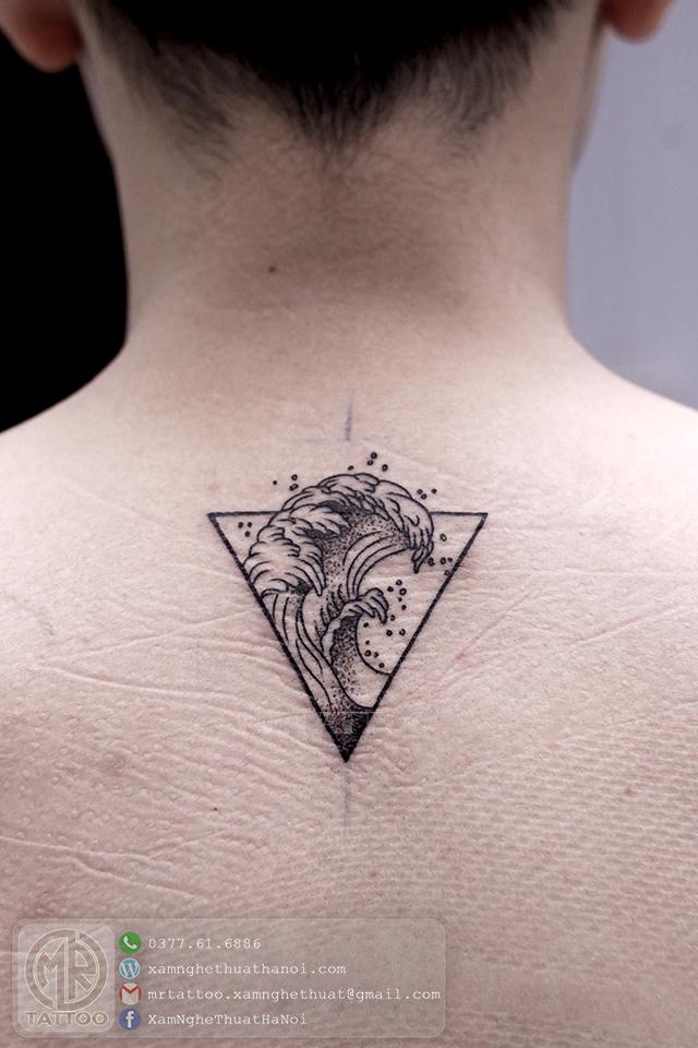 Hình xăm sóng biển - Hình Xăm Đẹp tại Mr.Tattoo - Những mẫu xăm đẹp nhất 2.