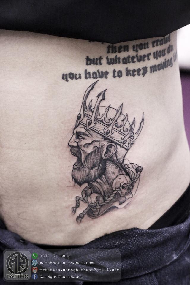 Hình xăm vua - Hình Xăm Đẹp tại Mr.Tattoo - Những mẫu xăm đẹp nhất 2.