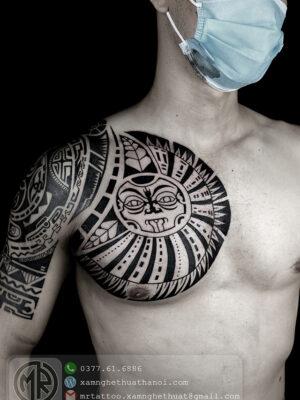 Hình Xăm Maori (2) - Hxd