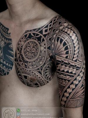 Hình Xăm Maori - Hxd